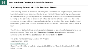 College Application Recommendation Letter Sample Press Cookery London