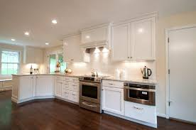 Wonderful Modern Kitchen Backsplash With White Cabinets Cabinet - Modern backsplash