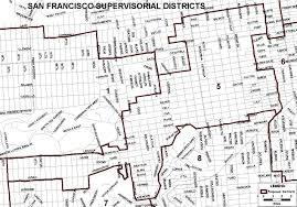 Map Of San Francisco Districts by New San Francisco Supervisorial District Map Sf Gsa