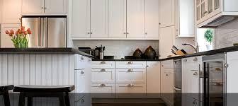 zinc vs stainless steel cabinet hardware modern white nuance kitchen with white flat panel door kitchen