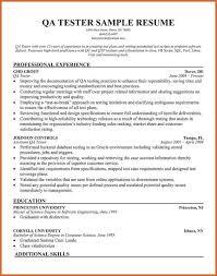 quality assurance resume quality assurance resume resume name