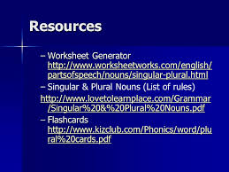 plurals ppt video online download