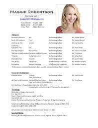 Sample Beginner Acting Resume by Beginner Acting Resume Free Resume Example And Writing Download