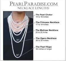 pearl necklace lengths images 18 inch pearl necklace jpg