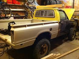 mitsubishi mini truck bed size my u002782 build toyota mini truck