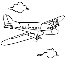 airline airplane coloring page download u0026 print online coloring