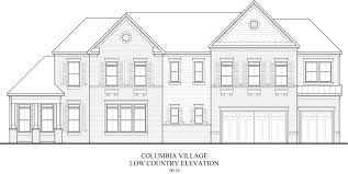 low country style homes columbia village peachtree residential