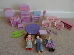 Kitchen Dollhouse Furniture by Elc Wooden Dolls House Furniture People Figures Kitchen Living
