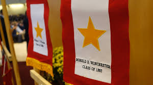 Gold Star Flag Gold Stars Shine For Eternity Chaminade Remembers Its Alumni