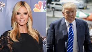 Trump Presidential Makeover by Heidi Klum Responds To Donald Trump U0027s Diss In The Perfect Way