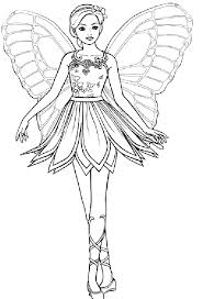 barbie coloring girls coloring pages barbie princess 10522