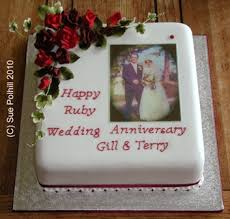 anniversary cakes from sue polhill wedding and celebration cakes