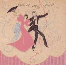 news years cards happy new year flapper with chagne flappers diy paper