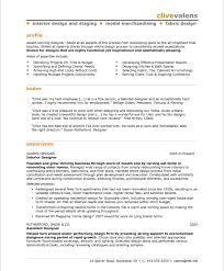 Work Experience Examples For Resume by Professional Interior Designer Resume Http Jobresumesample Com