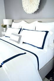 Bedroom Ideas With White Down Comforter Bedding Sets White Hotel Bedding With Brown Stitching Bedding