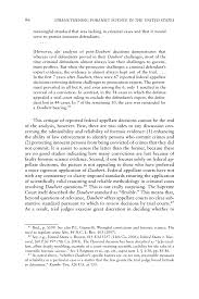 Examples Of Critical Essays 3 The Admission Of Forensic Science Evidence In Litigation