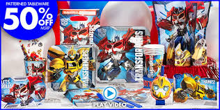 transformer decorations a simply unforgetable party shop