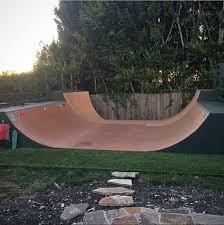 Backyard Skateboard Ramps by A Charming Backyard From Skatelite Skateboarding In The Backyard