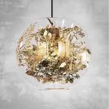 Flower Pendant Light Nordic Pendant Lights Glass Pendant L Modern Lustre Fish Tank