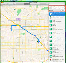 Knotts Berry Farm Map 5 Steps On How To Use Apple Os X Maps With Your Iphone How To List