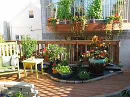 rooftop patio container garden 4 seasons painting and landscape