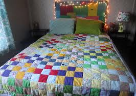 How To Change A Duvet Cover How To Sew A Quilt Quilting 101 33 Steps With Pictures