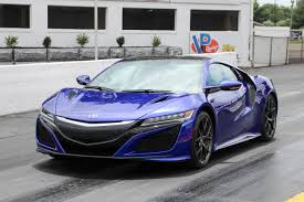 acura launching the 2017 acura nsx without burnouts