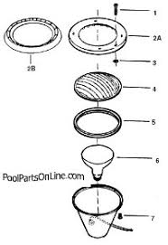 pentair pool light parts pentair purex pool star parts replacement parts for purex chd