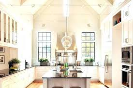 Vaulted Kitchen Ceiling Lighting Vaulted Ceiling Kitchen Kitchen With Vaulted Ceiling This Kitchen