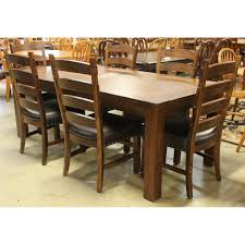 rustic dining room sets rustic dining table w chairs upscale consignment