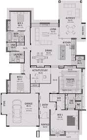 17m wide house plans u0026 designs perth vision one homes