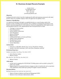 Analyst Resume Examples Business Analyst Resume Sample For Freshers Resume Template Example