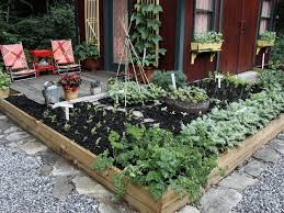 impressive raised bed landscaping small space edible landscape