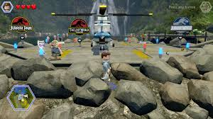Jurassic World Map by Review Revisited Lego Jurassic World Ps4blog Net