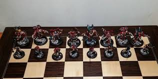 Diy Chess Set by Warhammer 40k Chess Board U2022 Playingtheodds