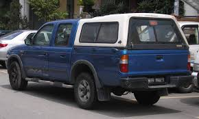 Ford Ranger Truck Bed Camper - file ford ranger southeast asian first generation rear