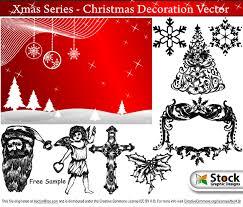 free christmas vector art