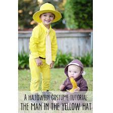 Curious George Halloween Costumes Kids Halloween Costume Man Yellow Hat