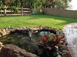 artificial turf installation oviedo florida landscape rock small