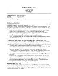 Maintenance Supervisor Resume Template Cover Letter Maintenance Supervisor Resume Sample Aircraft