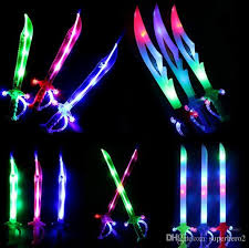 lightsaber toy light up 2018 light up ninja swords motion activated sound flashing pirate