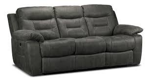 Grey Sofa Recliner Apartments Collins Power Reclining Sofa Charcoal Grey S