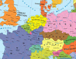 map without country names map of europe without germany once proposed the right side
