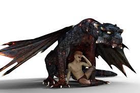 free photo dragon fire boy tattoo free image pixabay
