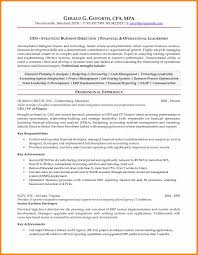 Cost Accounting Resume Key Achievements In Accounting Resume Virtren Com