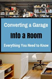 Convert Garage To Living Space by Converting A Garage Into A Room Garage Remodel To Family Room
