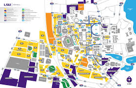 Mississippi State University Campus Map by Louisiana State University Campus Map Map