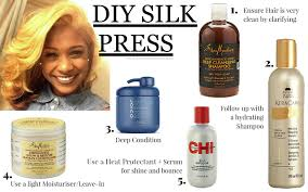 best flat iron sspray for african american hair how to achieve the perfect diy silk press