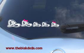 texas jeep stickers firefighter helmet family stickers personalized sticker