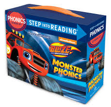 step reading monster phonics blaze monster machines